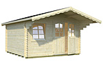 Sally 12.3sqm log cabin kits