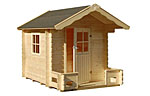 Sam 2.4sqm log cabin kits
