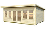 Lisa 19.4sqm log cabin kits