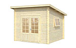 Leif 7.3sqm log cabin kits
