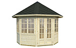 Veronica 4 6.7sqm log cabin kits