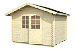 Vivian 6.9sqm log cabin kits