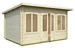 Lisa 11.5sqm log cabin kits