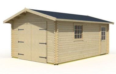 Andover Wooden Garage Timber Garages Workshops Uk