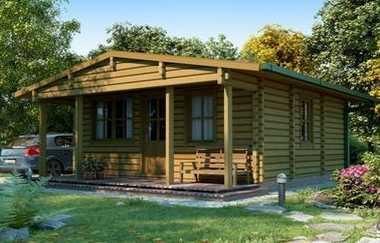 Berkshire Log House Garden Office Log Cabins For Sale