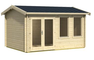 Berwick log cabin garden office log cabins for sale for Garden office wales