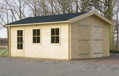 Lugarde Colorado Wooden Garage Timber Garages Workshops Uk