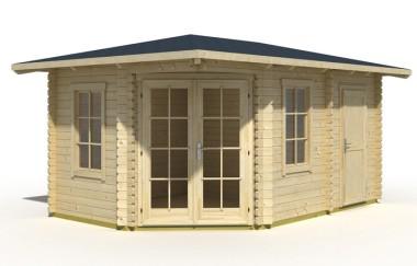 Evesham log cabin garden office log cabins for sale for Garden office wales