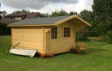 Crieff log cabin garden office log cabins for sale free for Garden office wales