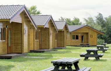 Holiday Cabins Camp Site Log Houses Woodland Retreat
