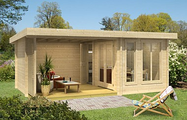 Hot Tub garden office Log Cabins for sale Free Delivery