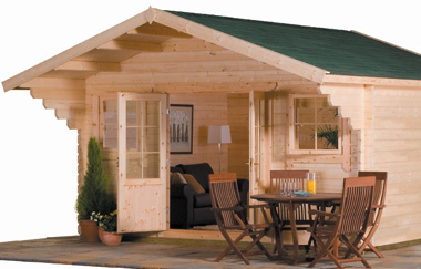Summer houses suitable for year round use in the garden