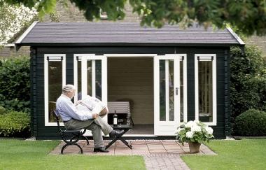 Lugarde Alabama Log Cabin Garden Office Log Cabins For