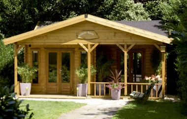 Lugarde Cyprus log cabin garden office Log Cabins for sale Free