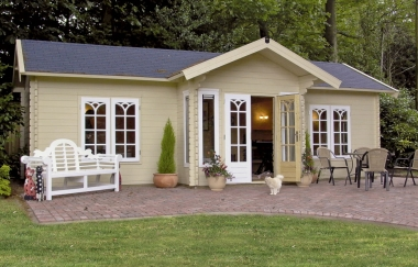 Lugarde Daisy Log Cabin Garden Office Log Cabins For