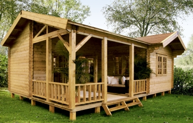 Lugarde Rio log cabin garden office Log Cabins for sale Free