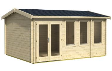 Oxford log cabin garden office log cabins for sale free for Garden office wales