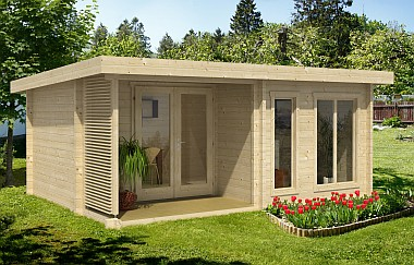 Orkney log cabin garden office Log Cabins for sale Free Delivery