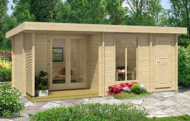 Orkney2 log cabin garden office Log Cabins for sale Free Delivery