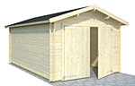 Roger 16.3sqm log cabin kits