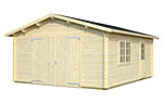 Roger 23.9sqm log cabin kits