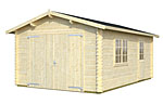 Roger 19.0sqm log cabin kits