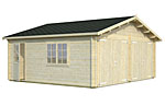 Roger 28.4sqm log cabin kits