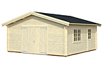 Roger 27.7sqm log cabin kits