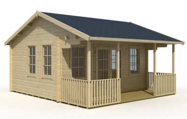 Reading log cabin garden office log cabins for sale for Garden office wales