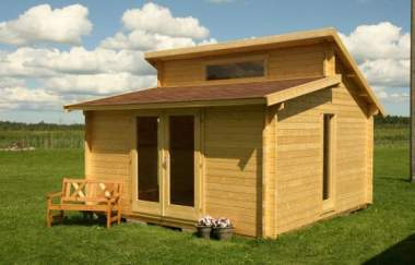 Ashbourne log cabin garden office log cabins for sale for Garden office wales