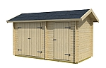 Tuvalu 1 log cabin kits