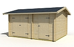 Tuvalu 2 log cabin kits