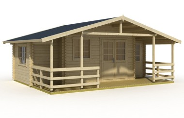 Winchester log cabin garden office log cabins for sale for Garden office wales