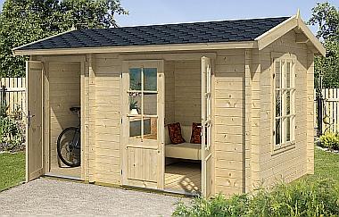Wrexham1 log cabin garden office log cabins for sale for Garden office wales