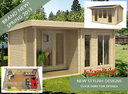 New log cabins for 2013