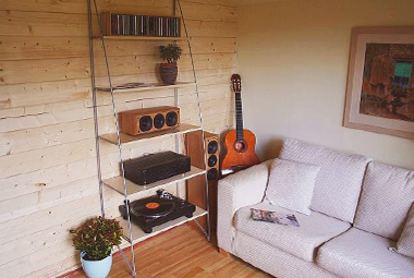 Music Room Log Cabins Garden Buildings Make The Perfect